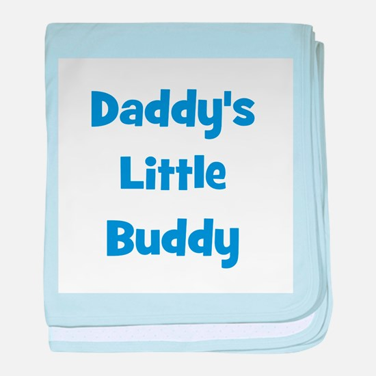 Daddy's Little Buddy baby blanket