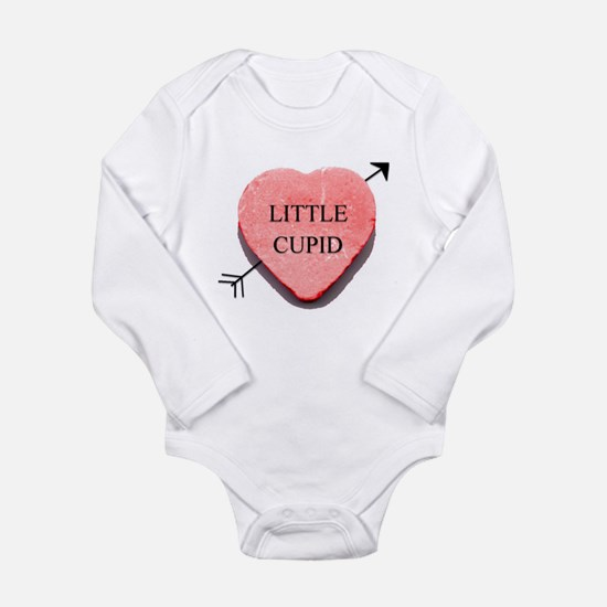 Valentine Candy Heart - Littl Long Sleeve Infant B