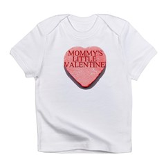 Valentine Candy Heart - Mommy Infant T-Shirt