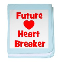 Future Heart Breaker baby blanket