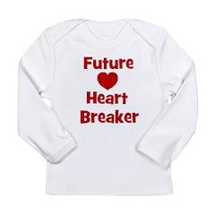 Future Heart Breaker Long Sleeve Infant T-Shirt