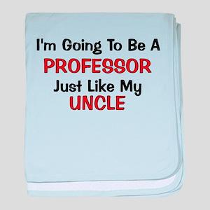 Professor Uncle Profession baby blanket