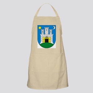 Zagreb Coat of Arms BBQ Apron