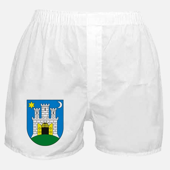 Zagreb Coat of Arms Boxer Shorts