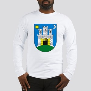 Zagreb Coat of Arms Long Sleeve T-Shirt