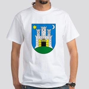 Zagreb Coat of Arms White T-Shirt
