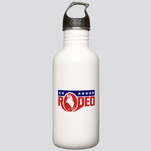 rodeo cowboy bronco Stainless Water Bottle 1.0L