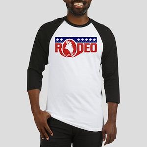 rodeo cowboy bronco Baseball Jersey