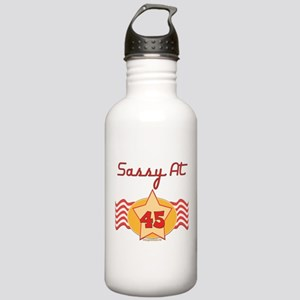 Sassy At 45 Years Stainless Water Bottle 1.0L