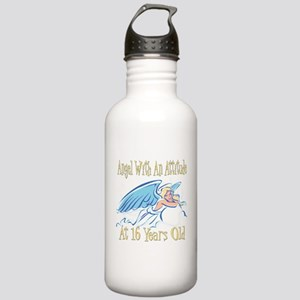 Angel Attitude 16th Stainless Water Bottle 1.0L