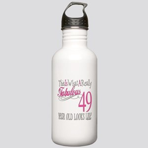 49th Birthday Gifts Stainless Water Bottle 1.0L