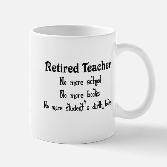 Retired Teacher copy Mugs