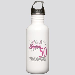 50th Birthday Gifts Stainless Water Bottle 1.0L