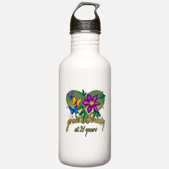 Beautiful 21st Water Bottle