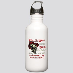 Drinking 30th Stainless Water Bottle 1.0L