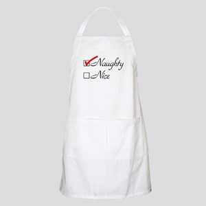 Naughty-check Apron