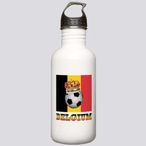 Belgium Football Stainless Water Bottle 1.0L
