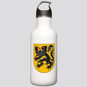 Flanders Coat Of Arms Stainless Water Bottle 1.0L