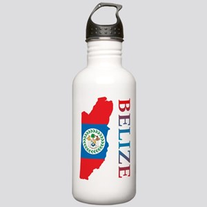 Map Of Belize Stainless Water Bottle 1.0L