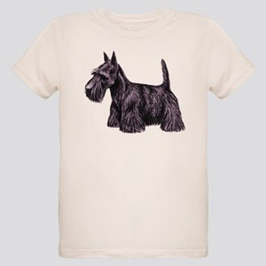 Scottish Terrier Organic Kids T-Shirt