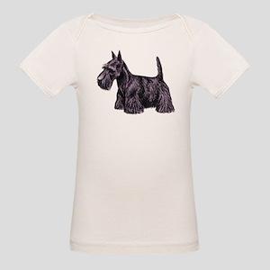Scottish Terrier Organic Baby T-Shirt
