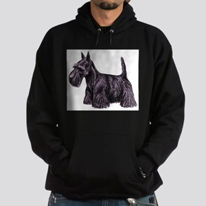 Scottish Terrier Hoodie (dark)