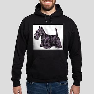 Scottish Terrier Hoodie (dark)