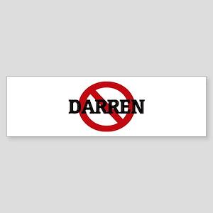 Anti-Darren Bumper Sticker