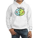 DOUBLE-FACED SMILEY Hooded Sweatshirt