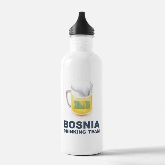 Bosnia Drinking Team Water Bottle