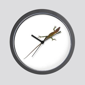 Crawling Lizard Wall Clock