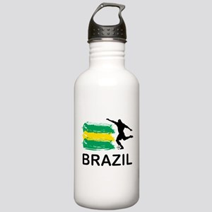 Brazil Football Stainless Water Bottle 1.0L
