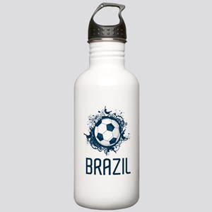 Hip Brazil Football Stainless Water Bottle 1.0L