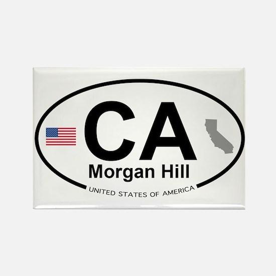 Morgan Hill Rectangle Magnet
