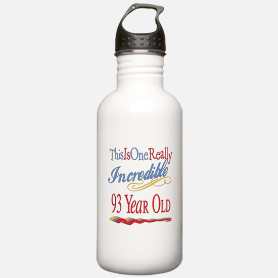 Incredible At 93 Water Bottle