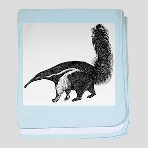 Giant Anteater baby blanket