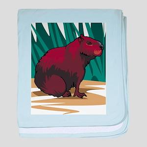 Ground Hog baby blanket
