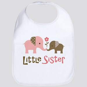 Little Sister - Mod Elephant Bib