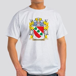 Stevenson Family Crest - Coat of Arms T-Shirt