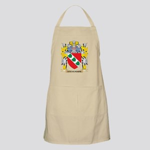 Stevenson Family Crest - Coat of Arms Light Apron