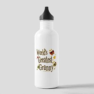 Granny Butterflies Stainless Water Bottle 1.0L