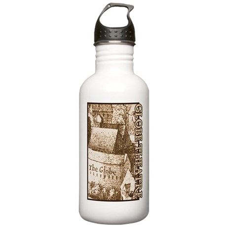 The Globe Theatre Stainless Water Bottle 1.0L