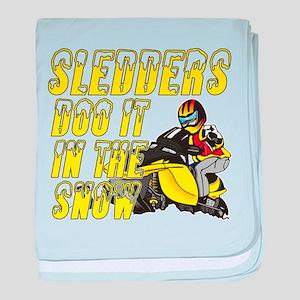 Sledders Doo baby blanket