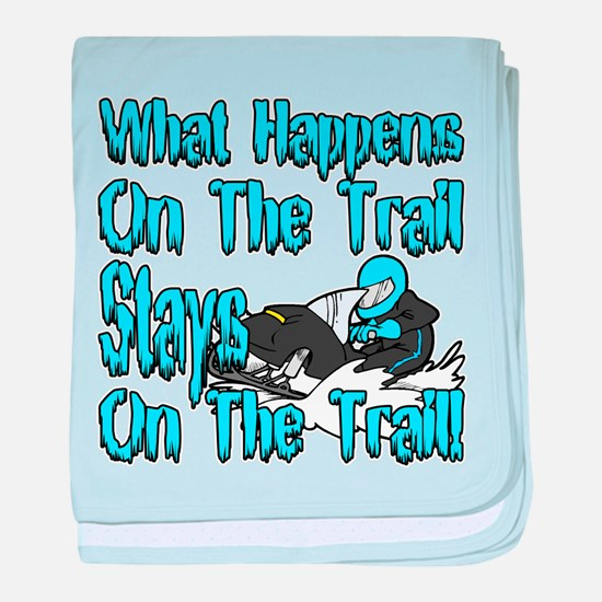 On The Trail baby blanket