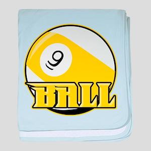 9 Ball baby blanket