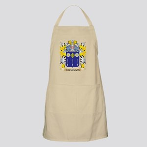 Stevenson- Family Crest - Coat of Arms Light Apron