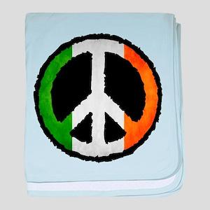 Irish Peace baby blanket
