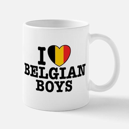 I Love Belgian Boys Mug