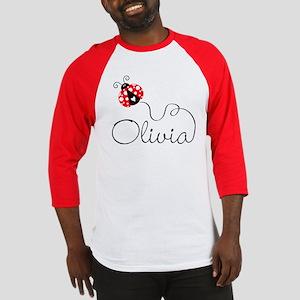 Ladybug Olivia Baseball Jersey