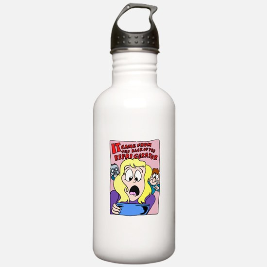 Back Of The Refrigerator Water Bottle